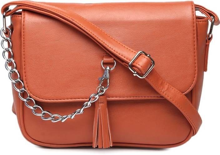 Buy Dressberry Sling Bag Orange Online @ Best Price in India ...