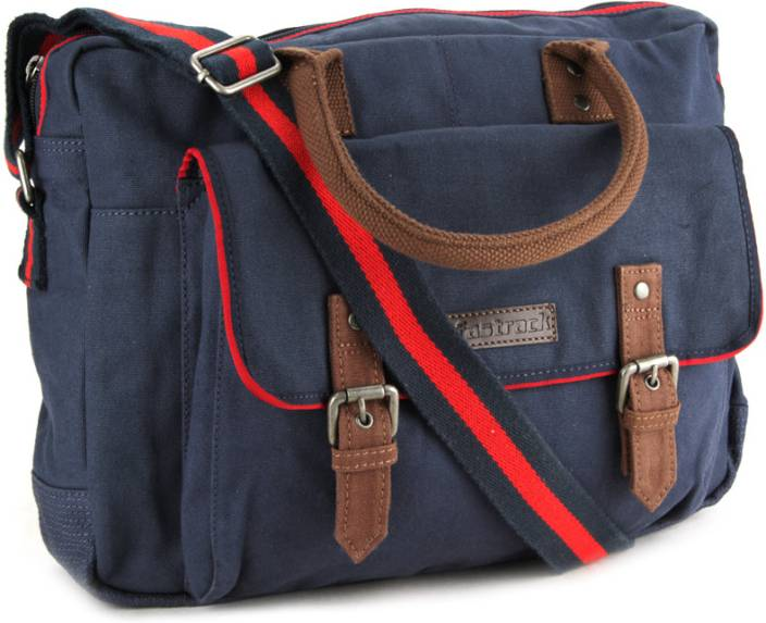 Buy Fastrack Messenger Bag Blue Online @ Best Price in India | Flipkart.com