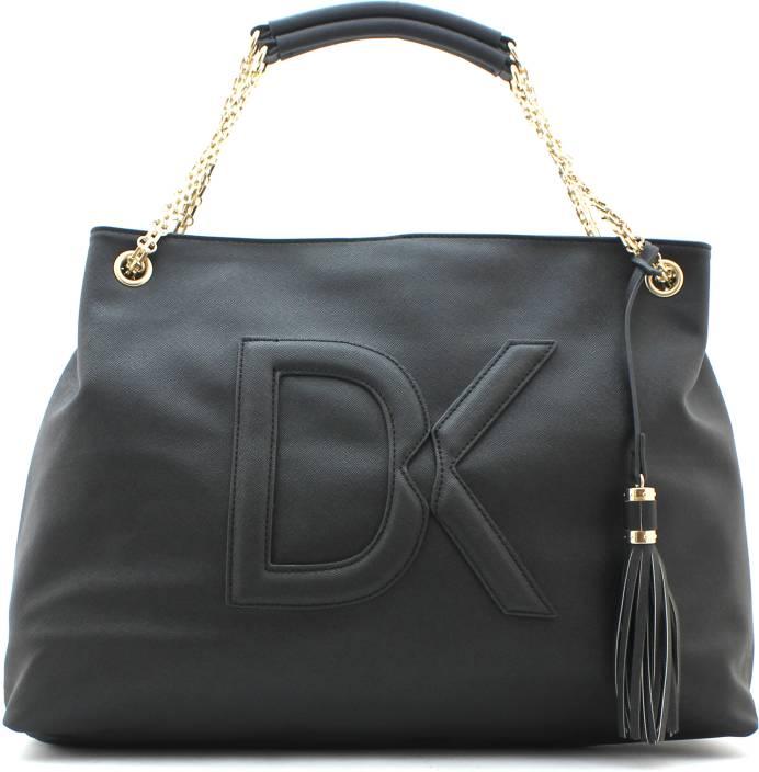 Buy Diana Korr Hand-held Bag Black-01 Online   Best Price in India ... 141a4cbd3a5af