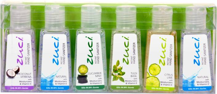 Zuci Zuci Assorted Combo Pack -Pack of 6