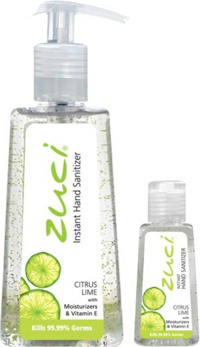 Zuci PACK OF 250 ML & 30 ML HAND SANITIZER- CITRUS LIME