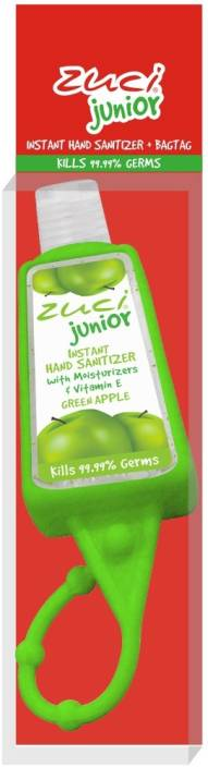Zuci Junior Green Apple with Bag Tag