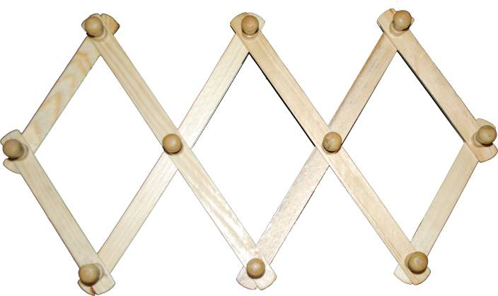 Wall Cloth Hanger indoart wall wooden cloth hanger price in india - buy indoart wall