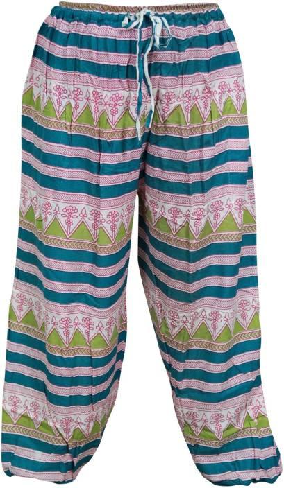 Indiatrendzs Floral Print Rayon Women's Harem Pants