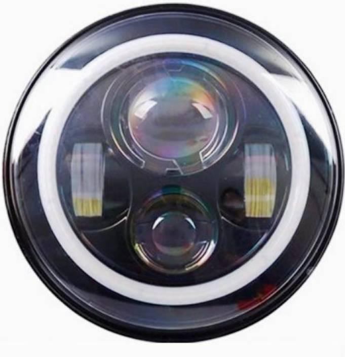 AutoPowerz LED Headlight For Royal Enfield, Mahindra Bullet 350, Bullet Electra, Classic 500