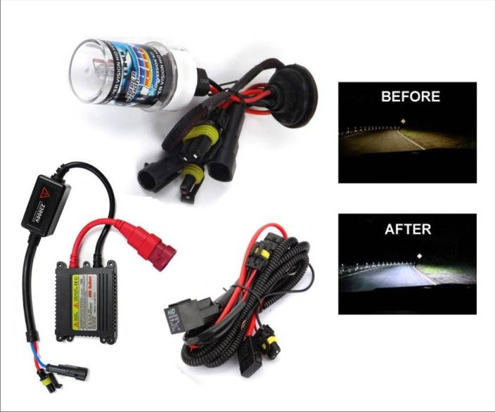 Xtremeonlinestore HID Headlight For TVS Apache RTR 220