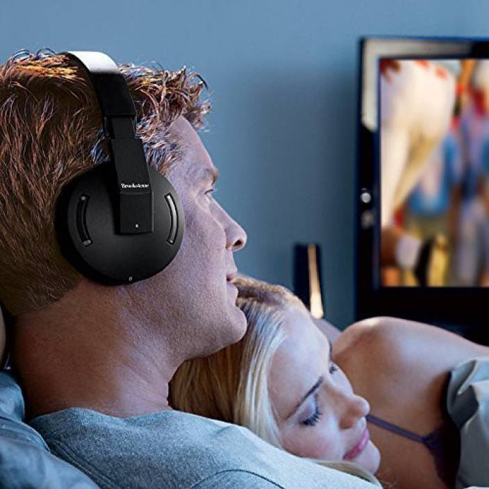 2004f50eaacb Brookstone 2.4Ghz Wireless Tv Headphones Headphone Price in India ...