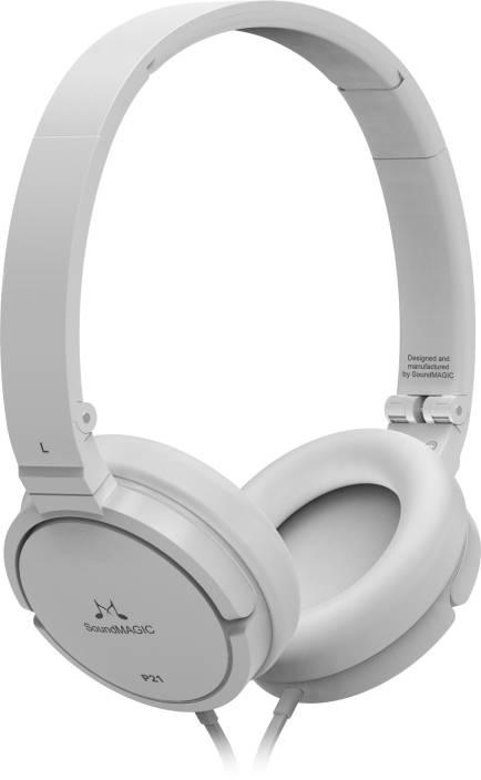 ec5ac60c31f SoundMagic P21 Headphone Price in India - Buy SoundMagic P21 ...