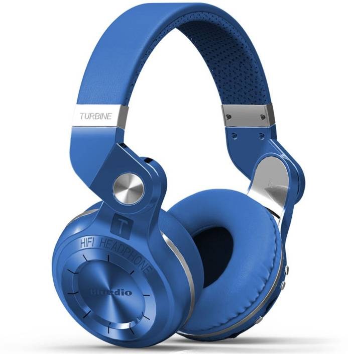 4977e3eb9bf Bluedio T2 Plus Blue Bluetooth Headphone Price in India - Buy ...