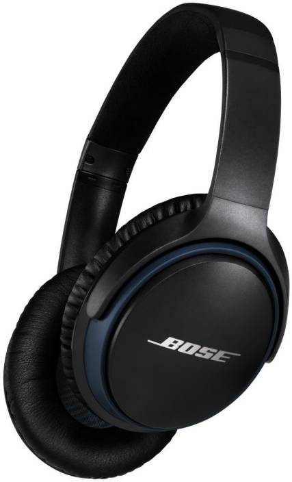 3c85cd10b2d Bose SoundLink Around Ear II Bluetooth Headset with Mic (Black, Over the  Ear)