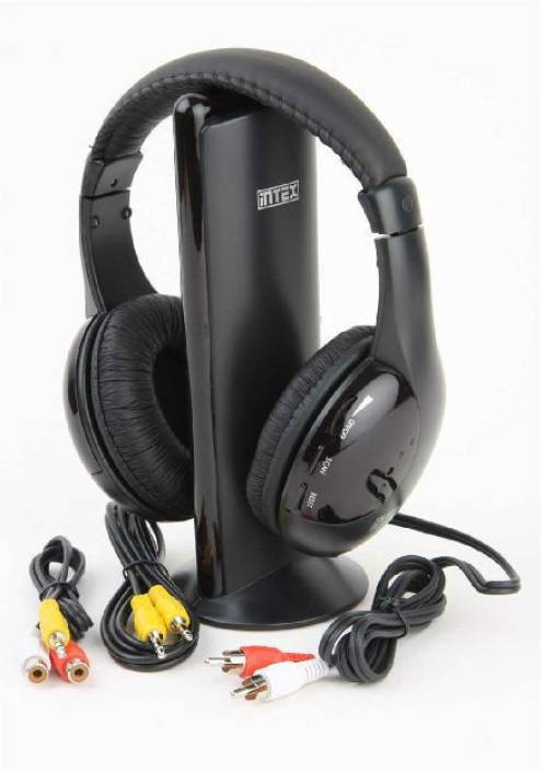 226a06fdbb9 Intex Intex Wireless Roaming Headphone Headphone (Black, On the Ear). Price:  Not Available