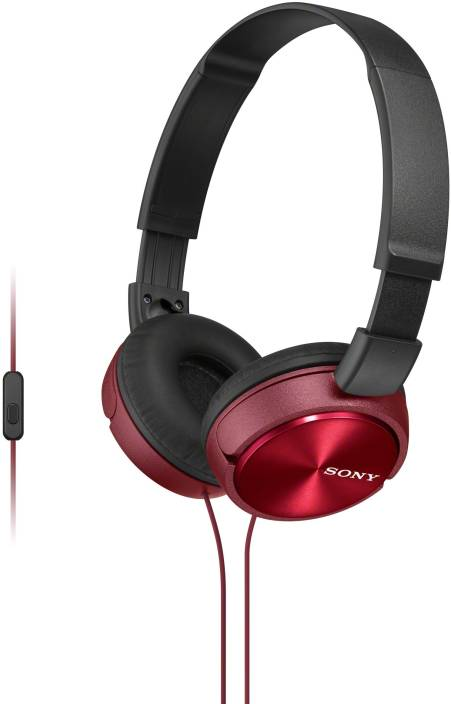 Sony MDRZX310APRCE Wired Headset with Mic