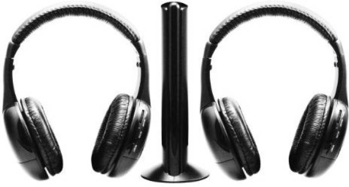 Sentry Industries Inc. Sentry Hw702 Wireless Headphones With Transmitter, Two-Pack (Discontinued By Manufacturer) Wired bluetooth Headphone