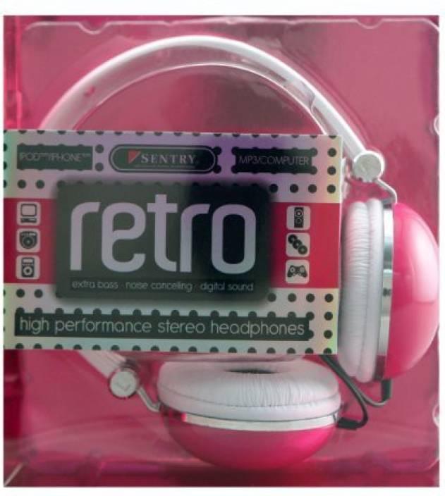 Sentry Industries Inc. Sentry Ho276 Retro High Performance Stereo Headphones Headphone