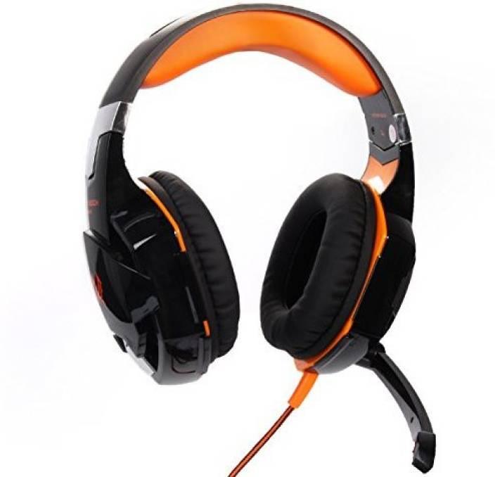 Xcsource Usb Stereo Pc Laptop Gaming Headset Headphone Headband With Mic Black+Th093 Headphone