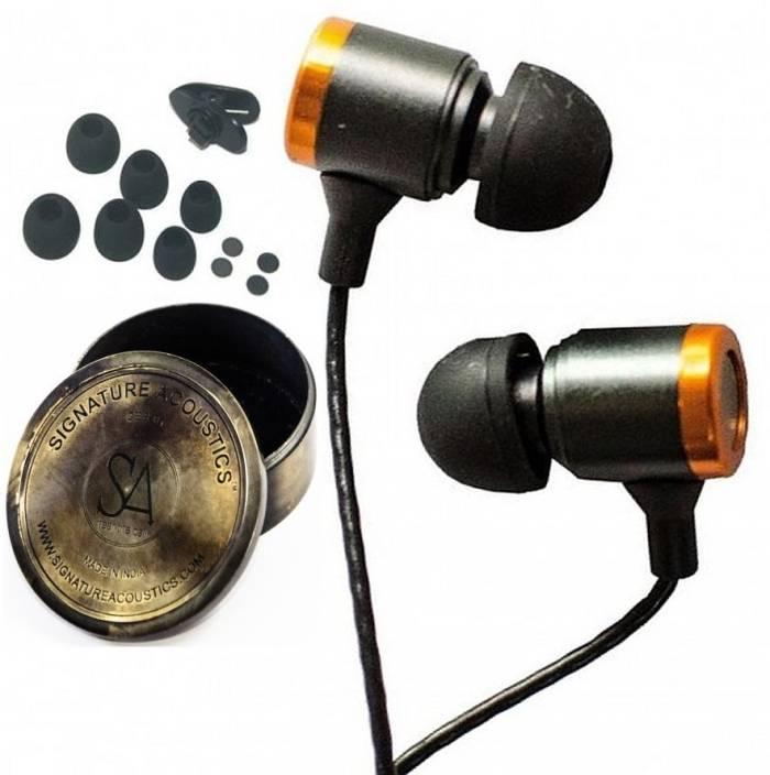 Signature Acoustics O16-Brass Headphone