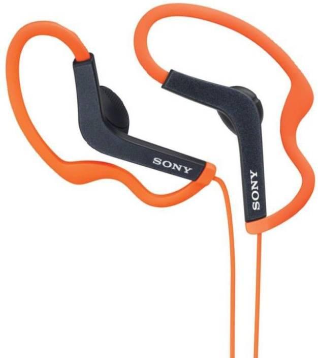 Sony MDR-AS200_Orange Headphone