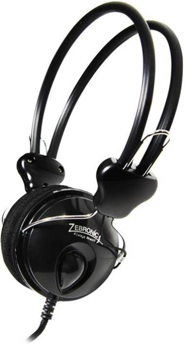 1b294d83484 Zebronics Pleasant Wired Headset with Mic Price in India - Buy ...