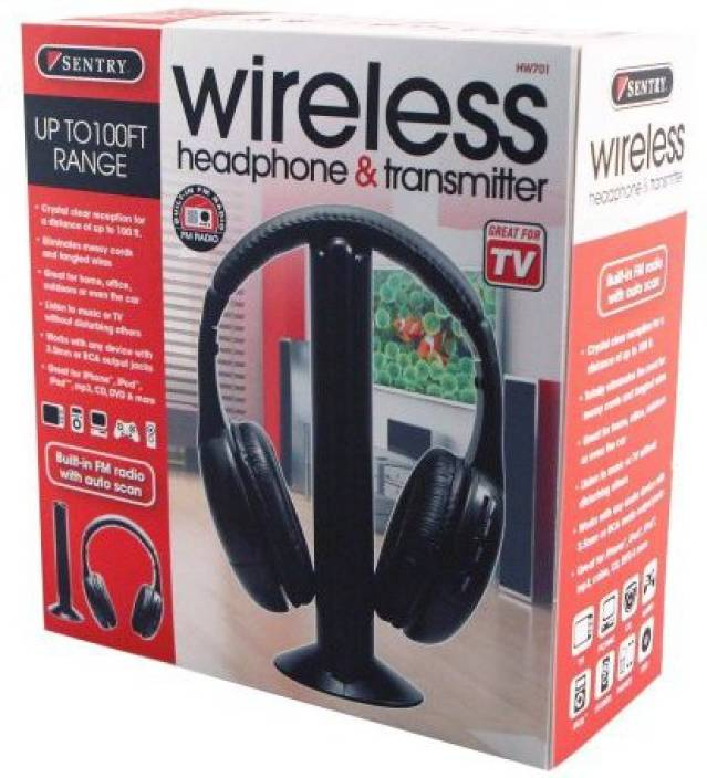 Sentry Hw701 Headphones (Discontinued By Manufacturer) Headphone
