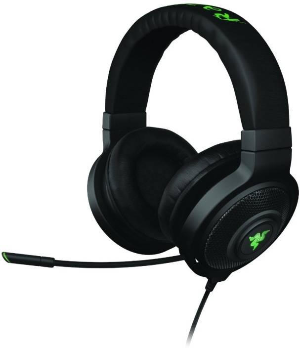 Razer Kraken 7 1 - Virtual 7 1 Surround Sound USB Gaming Headset Wired  Headset with Mic