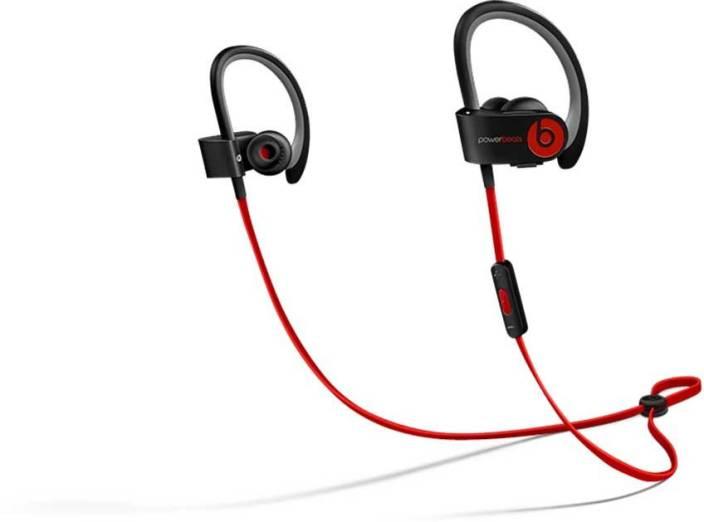 c41e1b0606a Beats Powerbeats 2 Wireless Bluetooth Headset with Mic (Black, In the Ear)