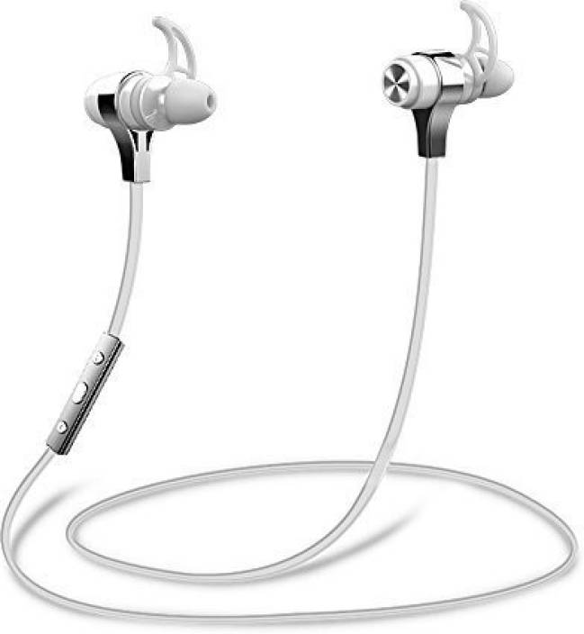 74b82d567b5 ZEALOT ZEALOT Headset Wired, Bluetooth Headset with Mic (White, In the Ear)