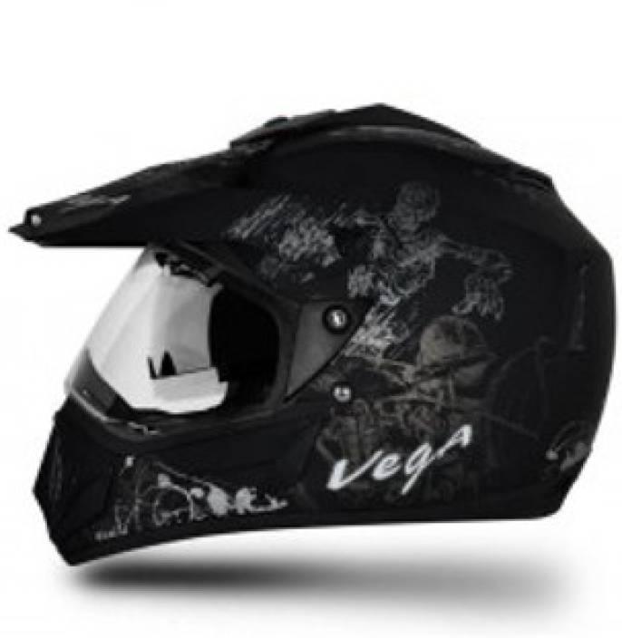 VEGA Off Road D/V Sketch Motorbike Helmet