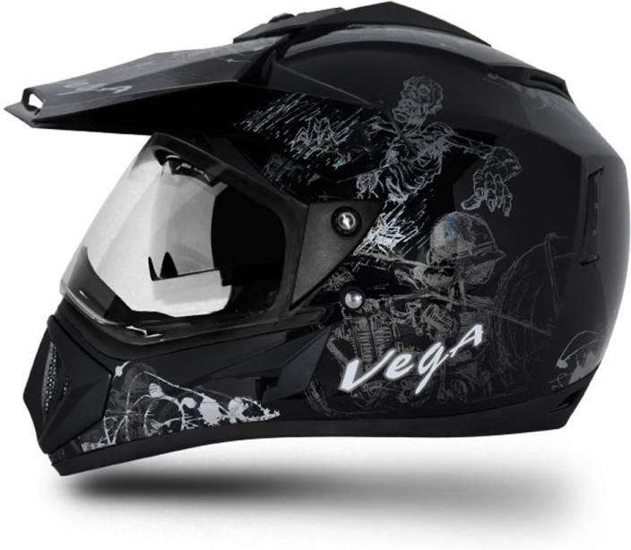 VEGA Off Road Sketch Motorbike Helmet