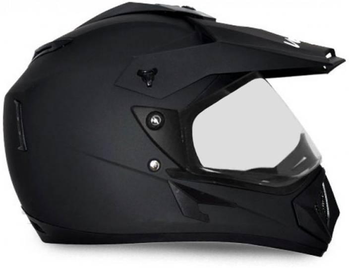 VEGA OFF ROAD DULL BLACK� Motorbike Helmet