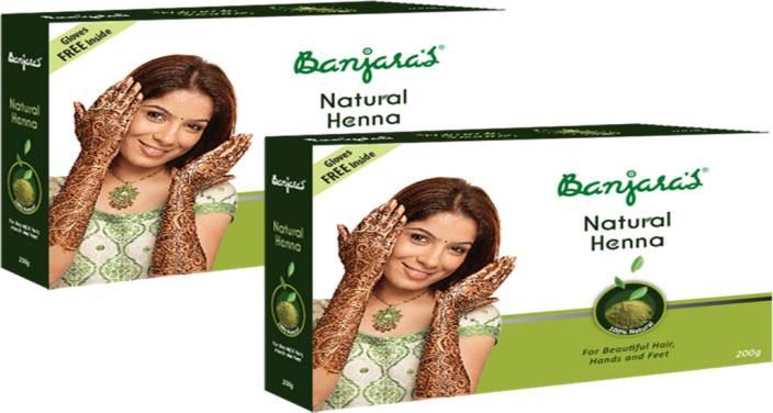 Banjara's Natural Henna 2 Packs