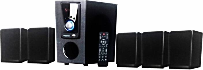 Gadget-Wagon Target 5 1 Channel Bluetooth (80w RMS) Home