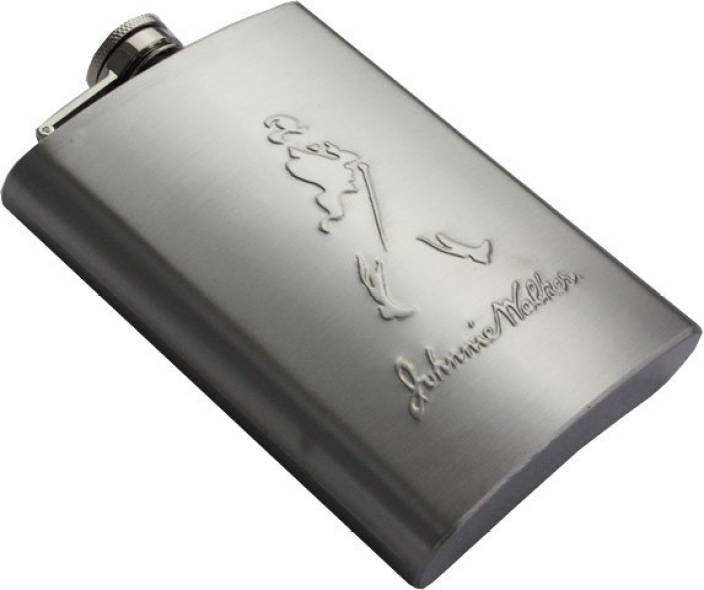 Johnnie Walker High Quality Imported Stainless Steel Hip Flask