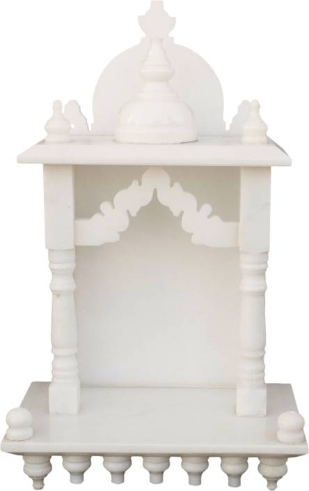 eShilp Home Temple Pooja Mandir small size 15 inches Marble Home ...