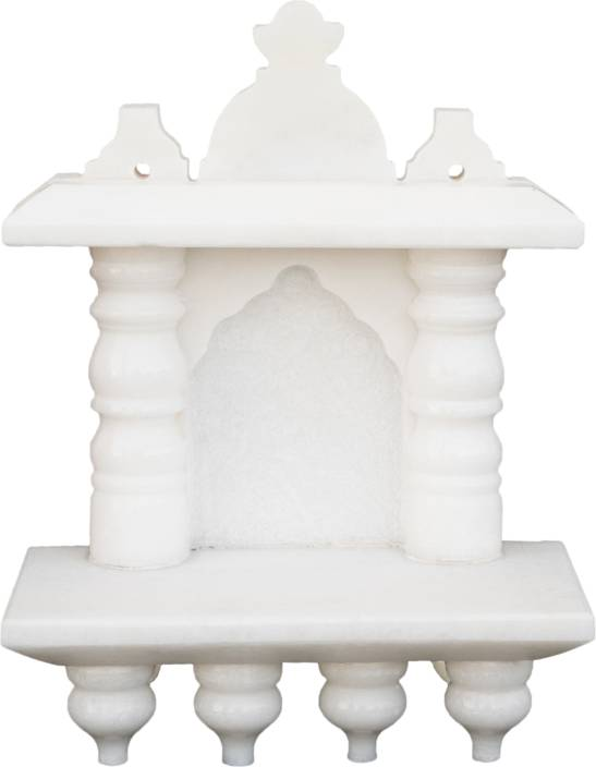 eShilp Home Temple Pooja Mandir small size 8 inches Marble Home ...