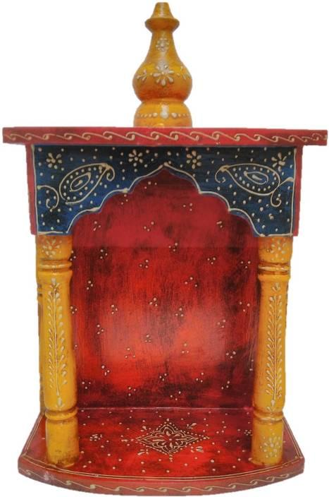 JaipurCrafts Wooden Home Temple