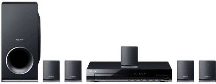 sony home theater. sony dav-tz145 5.1 2 front speakers, surround 1 centre speaker home theater