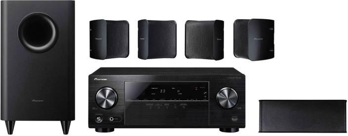 pioneer 5 1 speakers. pioneer htp-072 5.1ch 600w high power av receiver + hd audio 5.1 speaker 5 1 speakers h