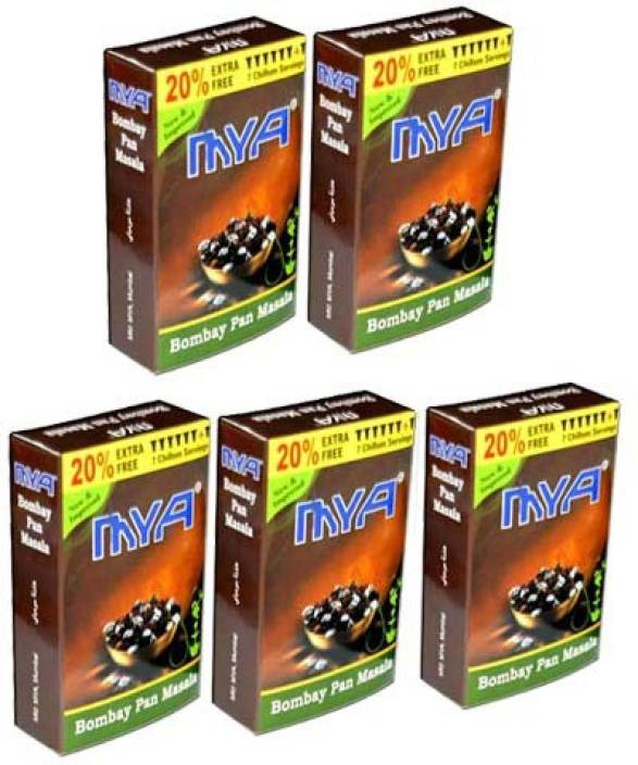 Mya Bombay Pan Masala Assorted Hookah Flavor Price in India - Buy