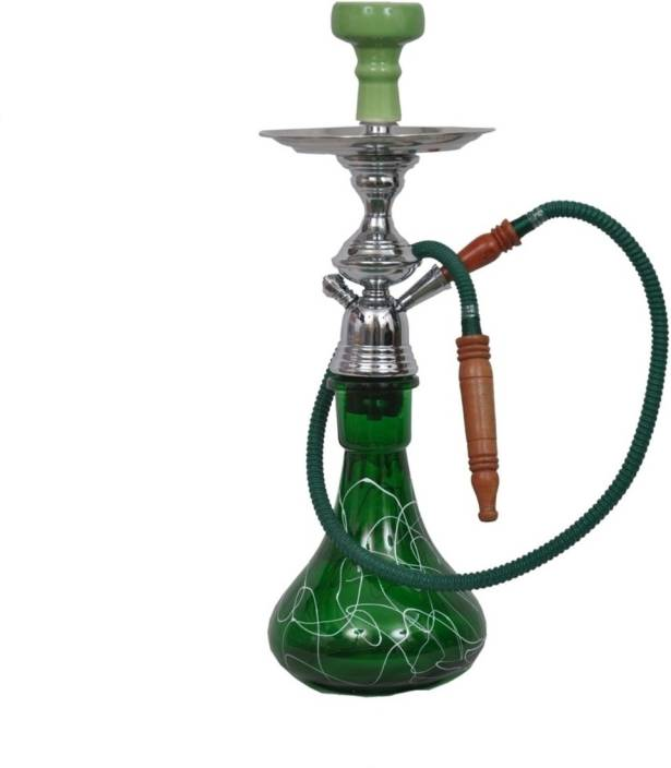 JaipurCrafts Premium 26 inch Glass Hookah