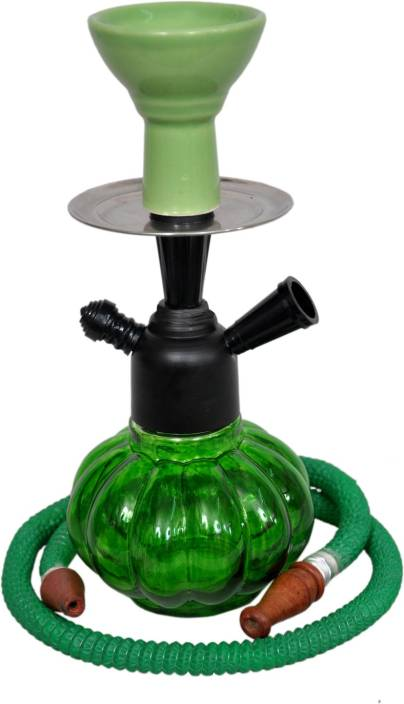 Basement Bazaar Sarfaraaz 12 inch Glass Hookah