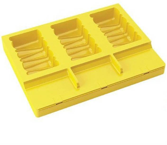 Shrih Chocobar / Kulfi / Ice Cream / Ice Candy Lollipop Mould Yellow