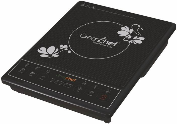Greenchef Smart Induction Cooktop Black Push On