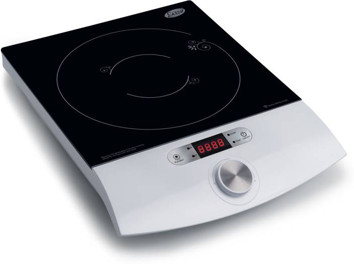 Glen Gl Induction Cooker 3073 Touch Cooktop White Jog Dial
