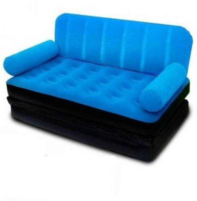Inflatable Sofa Bed Flipkart: Bestway PP 3 Seater Inflatable Sofa Price In India