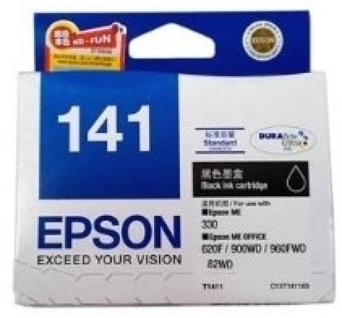 Epson 141 Black Ink cartridge C13T141190