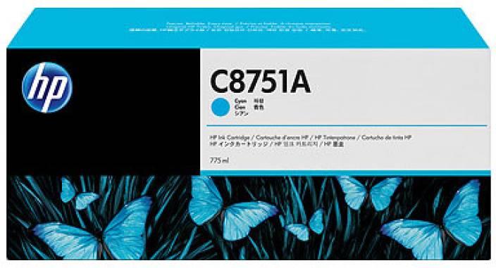 HP C8750A Cyan Ink Cartridge