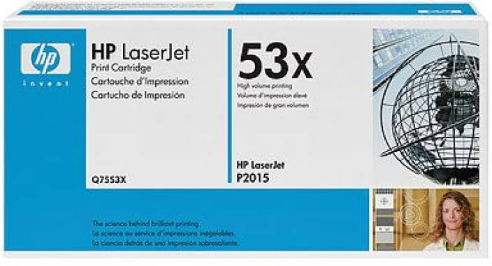HP 53X Black LaserJet Toner Cartridge
