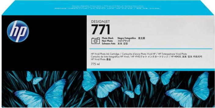 HP 771 3-pack Photo Black Designjet Ink Cartridges