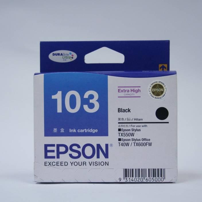 Epson 103 Black Ink cartridge C13T103190