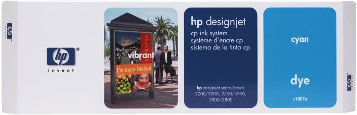 HP Designjet CP 410-ml Cyan Dye Ink System